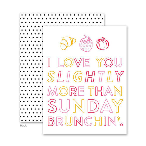 Sunday Brunchin' Cards