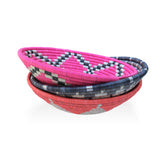 Bright Coral Hope Basket