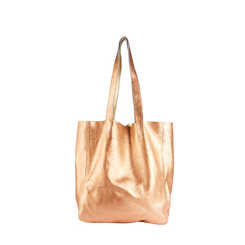 Copper | Gold Tallula Reversible Tote