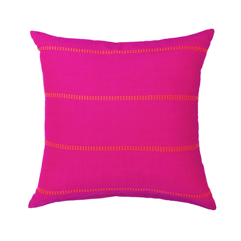 Bright Dashes Pillow