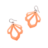 Acrylic Facet Cut Out Earrings