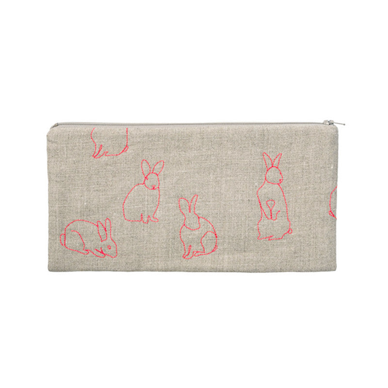 Neon Rabbits Pouch