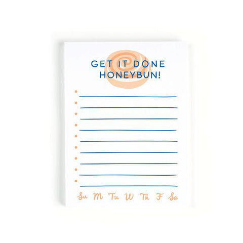 Done Honeybun Notepad