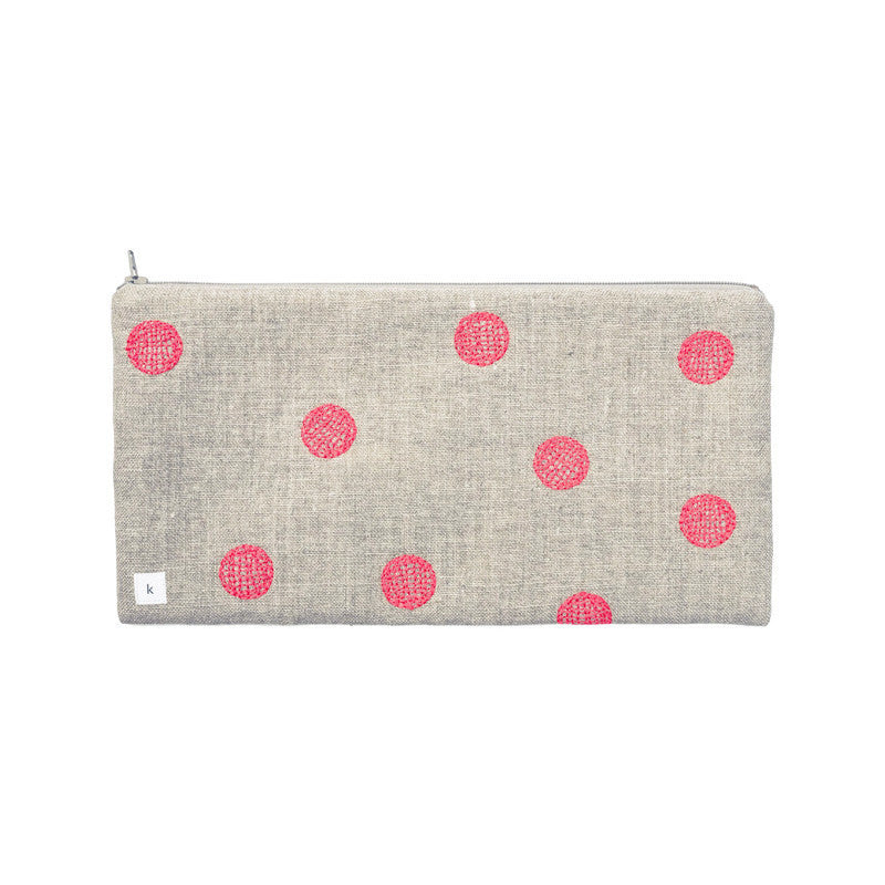 Neon Dots Pouch