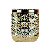 30 oz. Jumbo Metallic Faceted Jar Candle