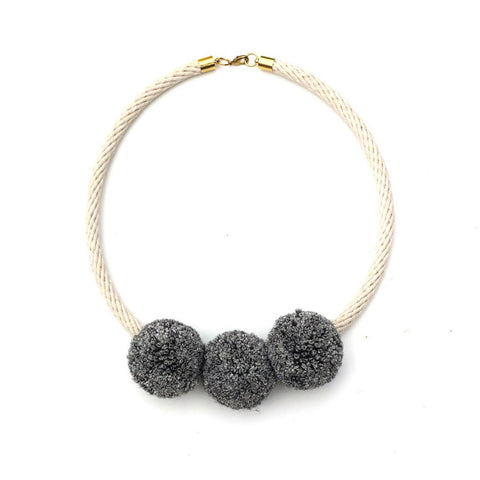 Poms Necklace