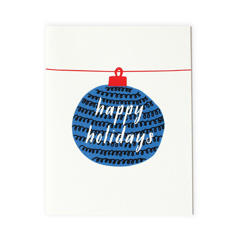 Happy Holidays Card Set