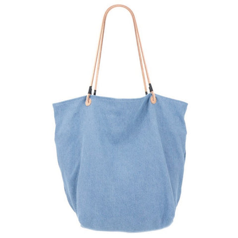 Light Denim Tote