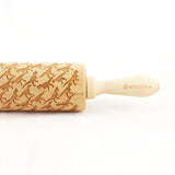 T-Rex Embossed Rolling Pin