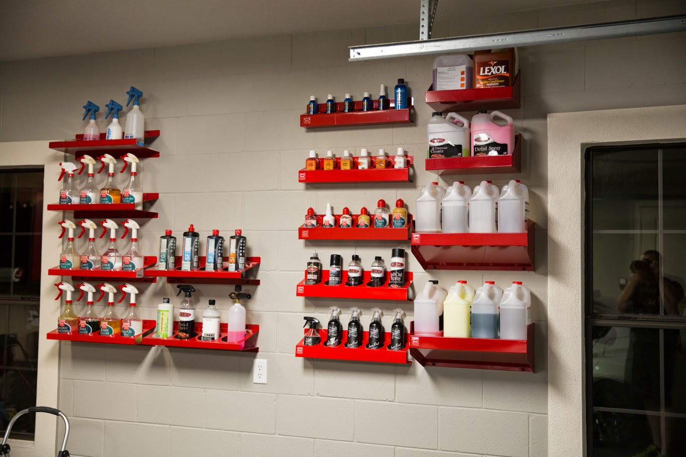 Painting And Detailing Supply Racks Obsessed Garage Blog
