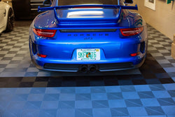 The GT3 Gets a Personalized Plate