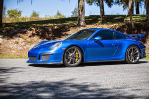 I Got the 991 GT3's Windows Tinted