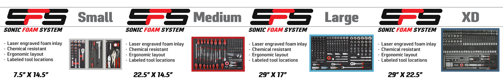 sonic foam systems tools