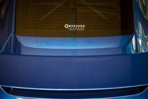 Obsessed Garage Die-Cut Vinyl Logo Decal