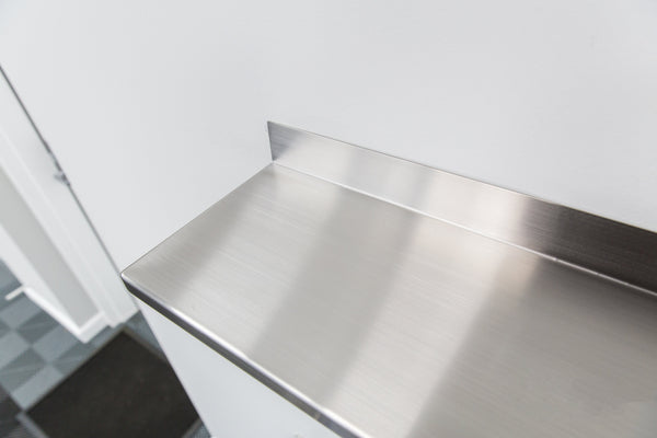 "18"" x 8"" Stainless Steel Pressure Washer Shelf"