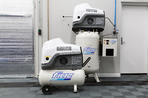 FIAC New Silver 3 Silent Rotary Screw Air Compressors