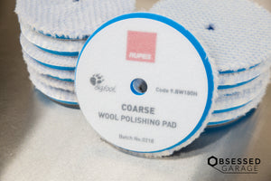 RUPES Wool Polishing Pads