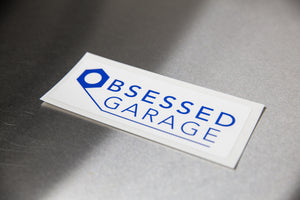 Printed Vinyl Logo Sticker
