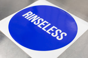"9"" Rinseless Wash Bucket Vinyl"