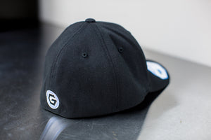 Basic Hat in Jet Black
