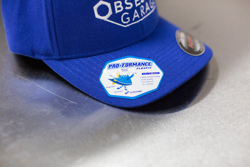 Basic Hat in Sapphire Blue