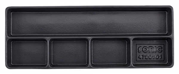 Empty Tray - 5 Compartments - Long
