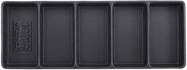 Empty Tray - 5 Compartments