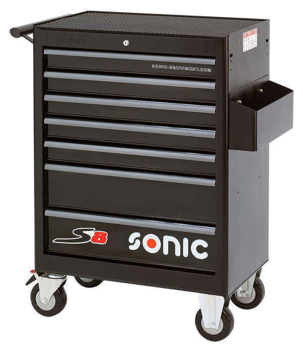 Sonic Tools Empty S8 Toolbox, 7 Drawers