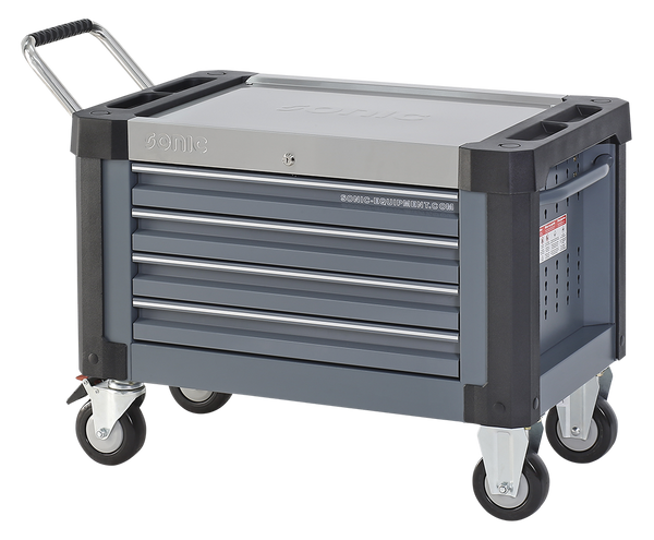 Sonic Tools Empty S9 Topbox With Wheels and Handle (Dark Grey)