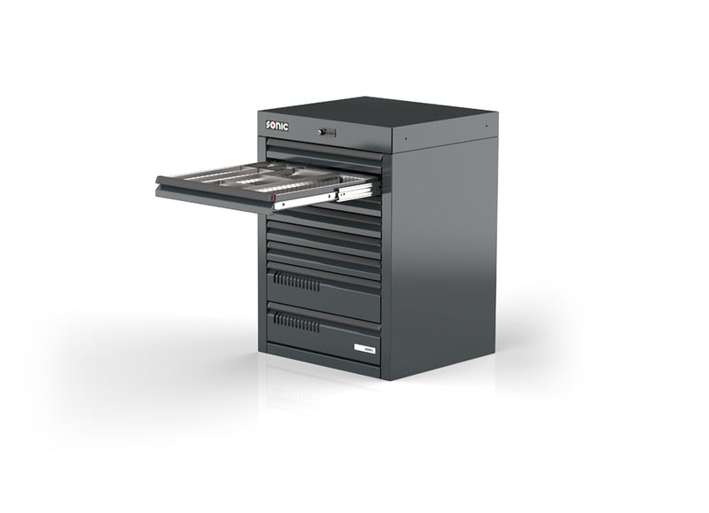 Sonic Tools MSS+ 720 Series Drawer Cabinet, 8 Drawers