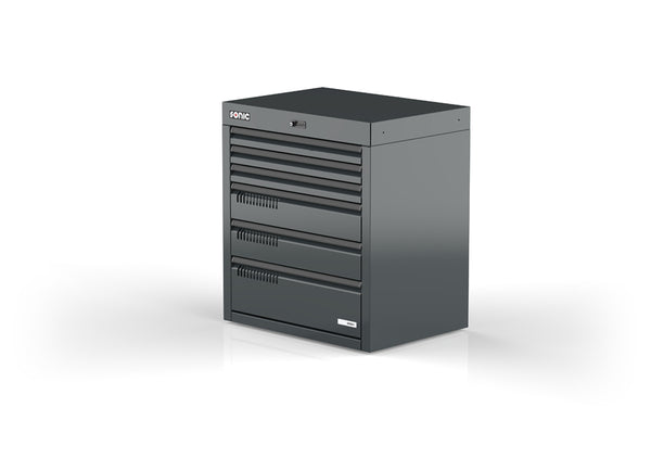 Sonic Tools MSS+ 890 Series Drawer Cabinet, 6 Drawers