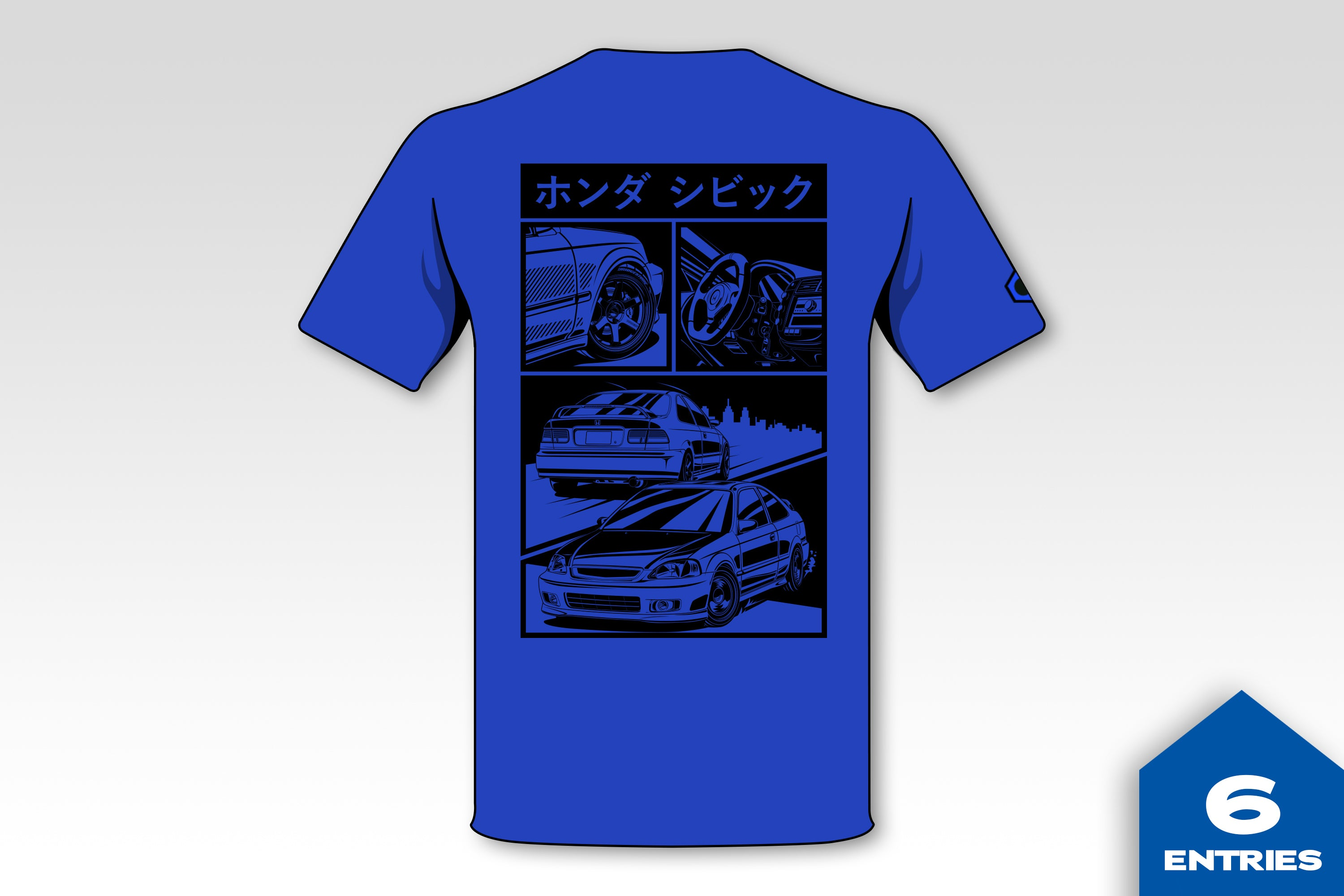 Civic Si JDM Graphic Shirt