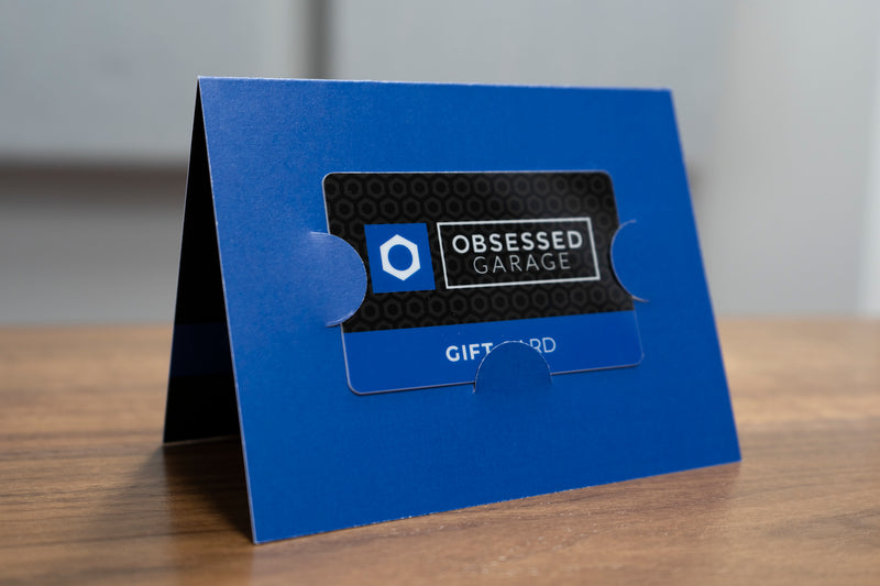 Physical Obsessed Garage Gift Card