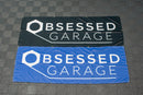 Obsessed Garage Fabric Banners