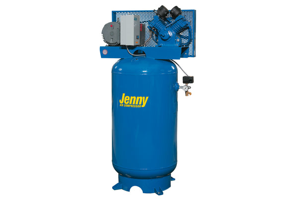 Jenny GT3B-60 3HP 60 Gallon Two Stage Air Compressor