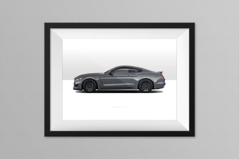 Obsessed Garage Magnetic Grey Illustration