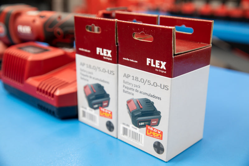 Flex XFE 15 150 Cordless Polisher Set