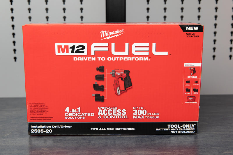 Milwaukee M12 FUEL™ Installation Drill/Driver
