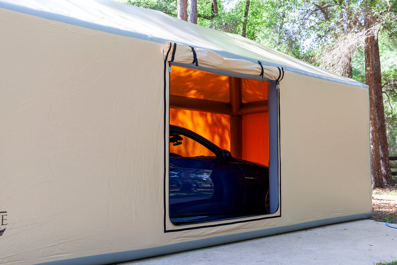 CarCapsule Pitched Roof ShowCase Outdoor