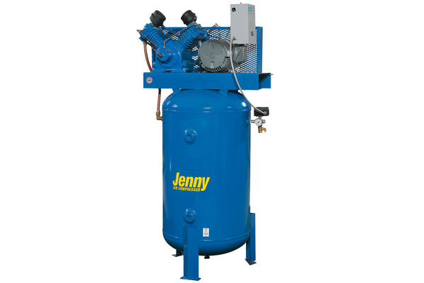 Jenny W5B-60 5HP 60 Gallon Two Stage Air Compressor