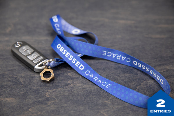 Obsessed Garage Lanyard