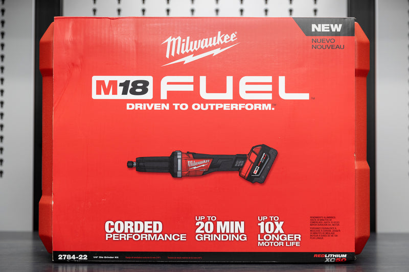"Milwaukee M18 FUEL™ 1/4"" Die Grinder"