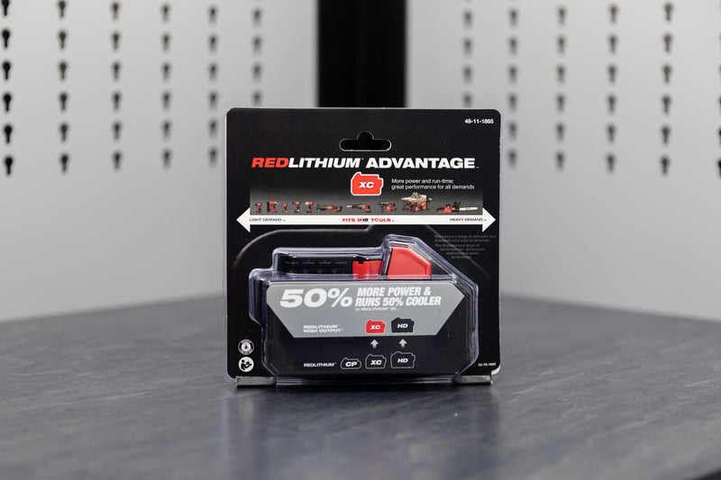 Milwaukee M18™REDLITHIUM™ HIGH OUTPUT™ XC6.0 Battery