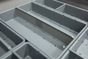 Tool Grid Container Dividers