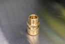"M22 (15mm) Male to 3/8"" Brass Coupler"