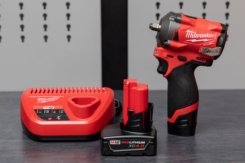 "Milwaukee M12 FUEL™ 3/8"" Stubby Impact Wrench"