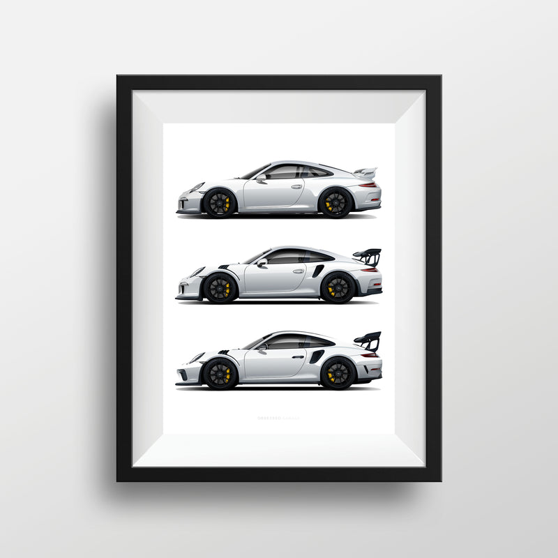 Obsessed Garage Weiss GT Illustration