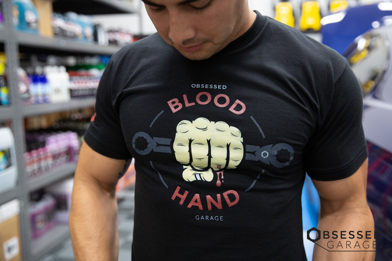 Blood Hand Shirt in Black