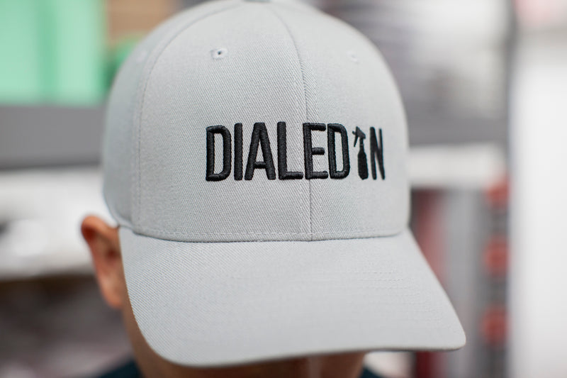 Dialed In Hat in Avalanche Gray
