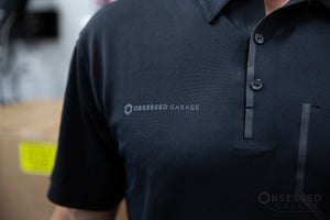 Black Pocket Polo